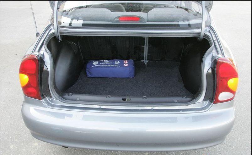 chevrolet багажник