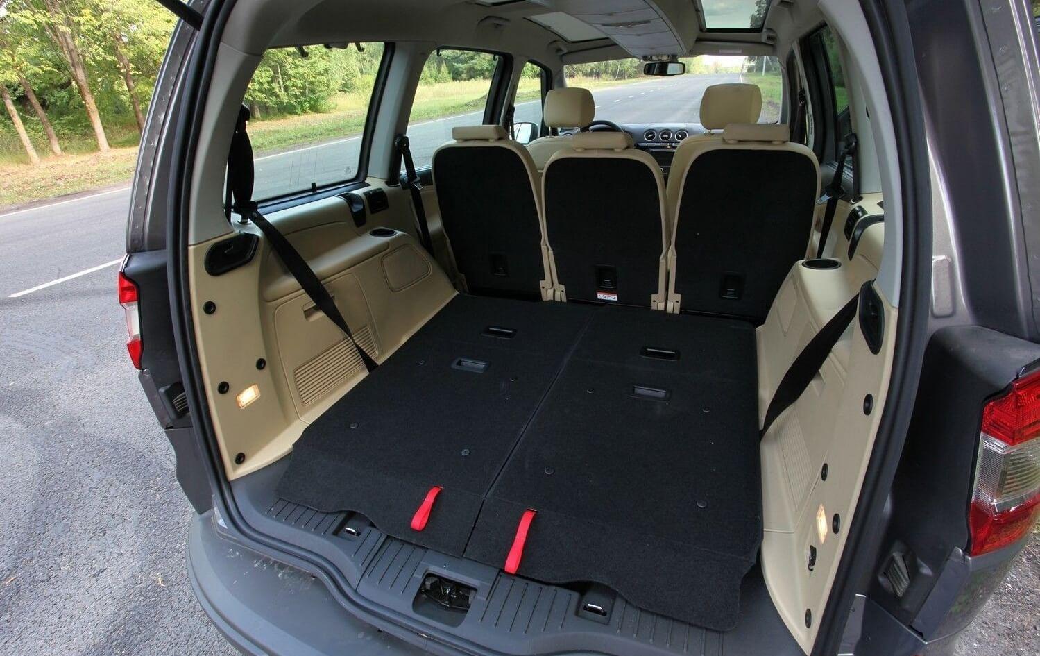 форд галакси объем багажника