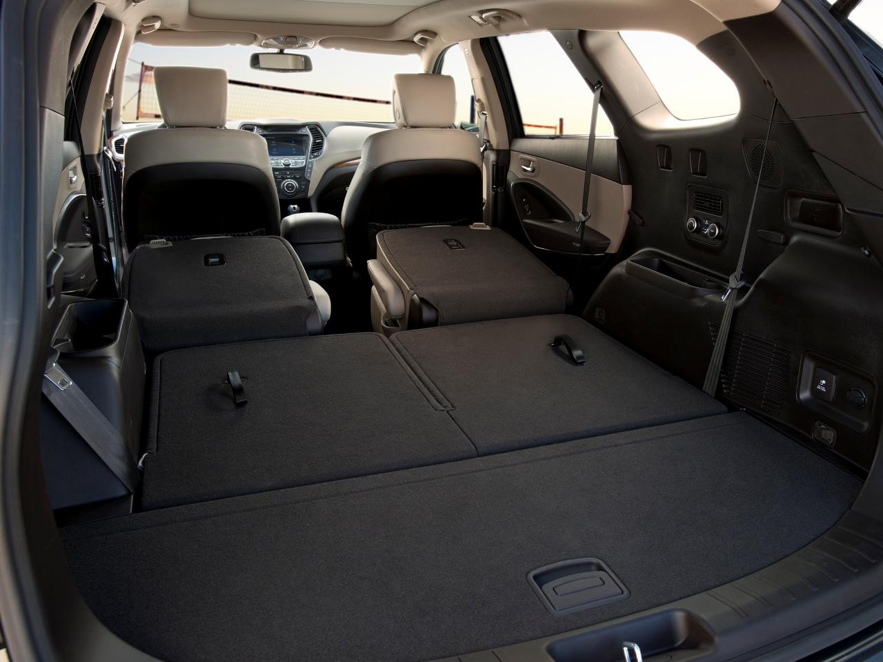 hyundai ix55 .багажник