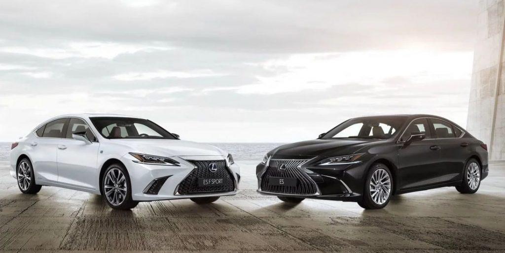 Lexus ES FSport в 2019 году