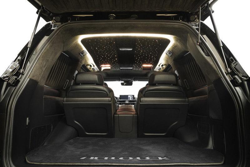 lexus lx 570 багажник