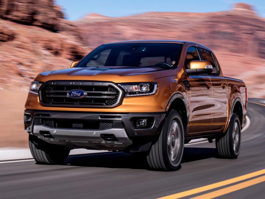 Ford Ranger 2019 года - В движении
