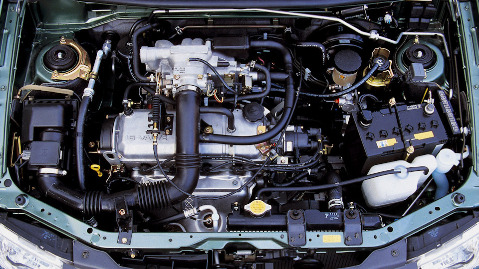 Mazda Demio мотор.