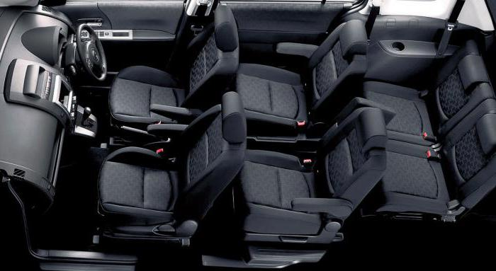 Mazda Premacy салон.