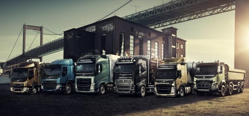 Модельный ряд Volvo Trucks