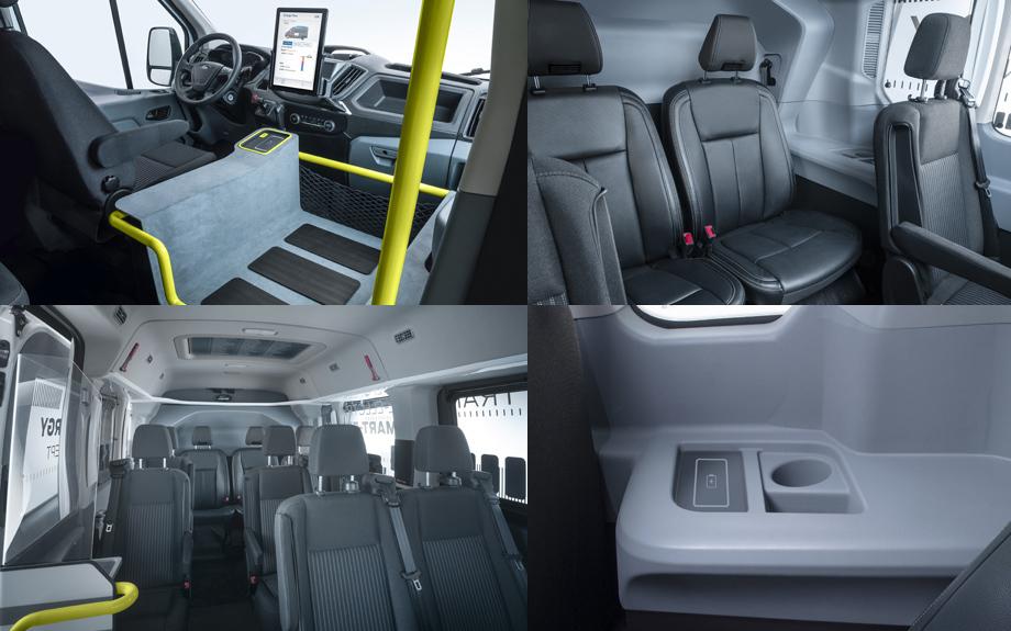 Transit Smart Energy Concept.салон
