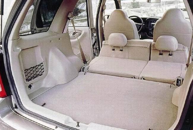 .mazda tribute багажник
