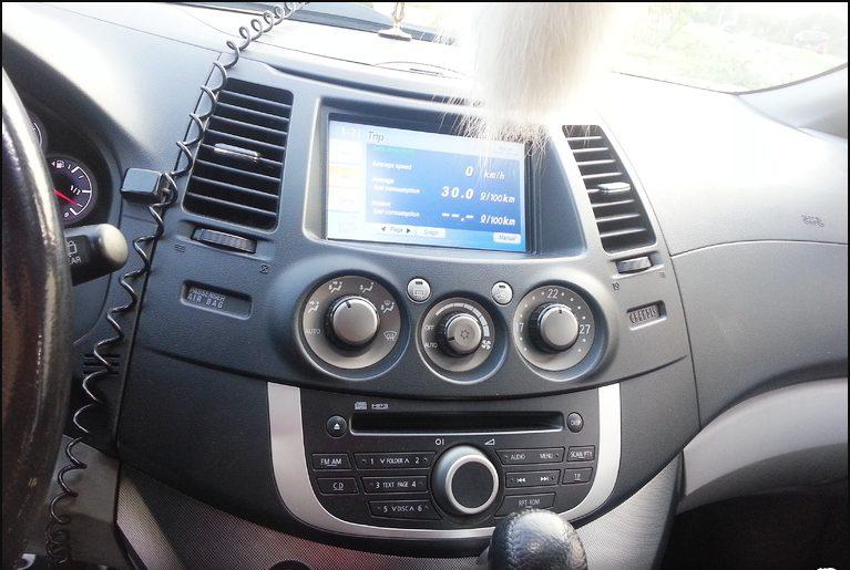 Mitsubishi Grandis приборы