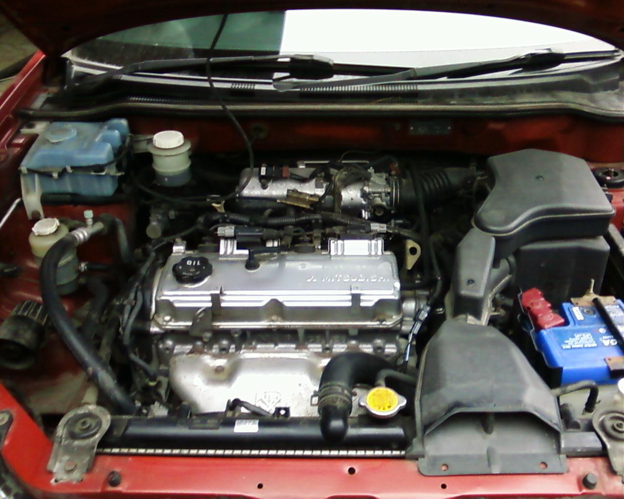 mitsubishi airtrek мотор