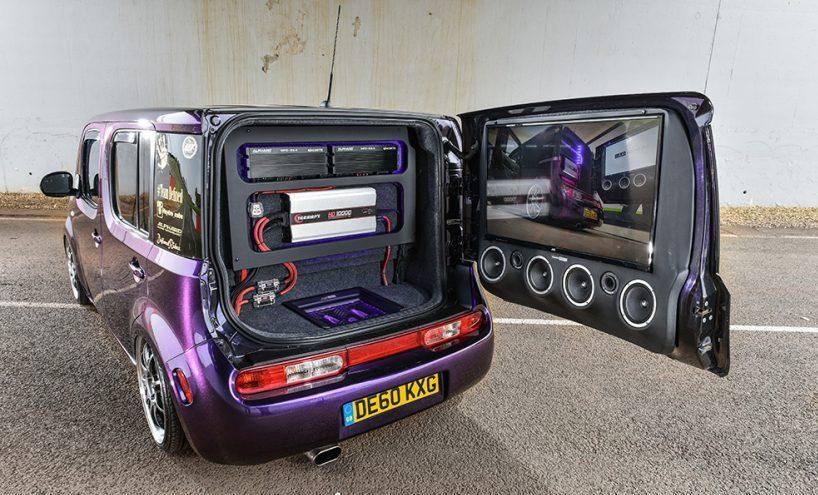 nissan cube багажник