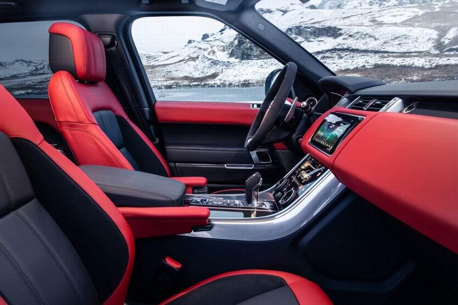 Range Rover Sport интерьер