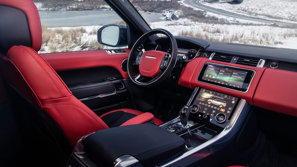 Range Rover Sport салон