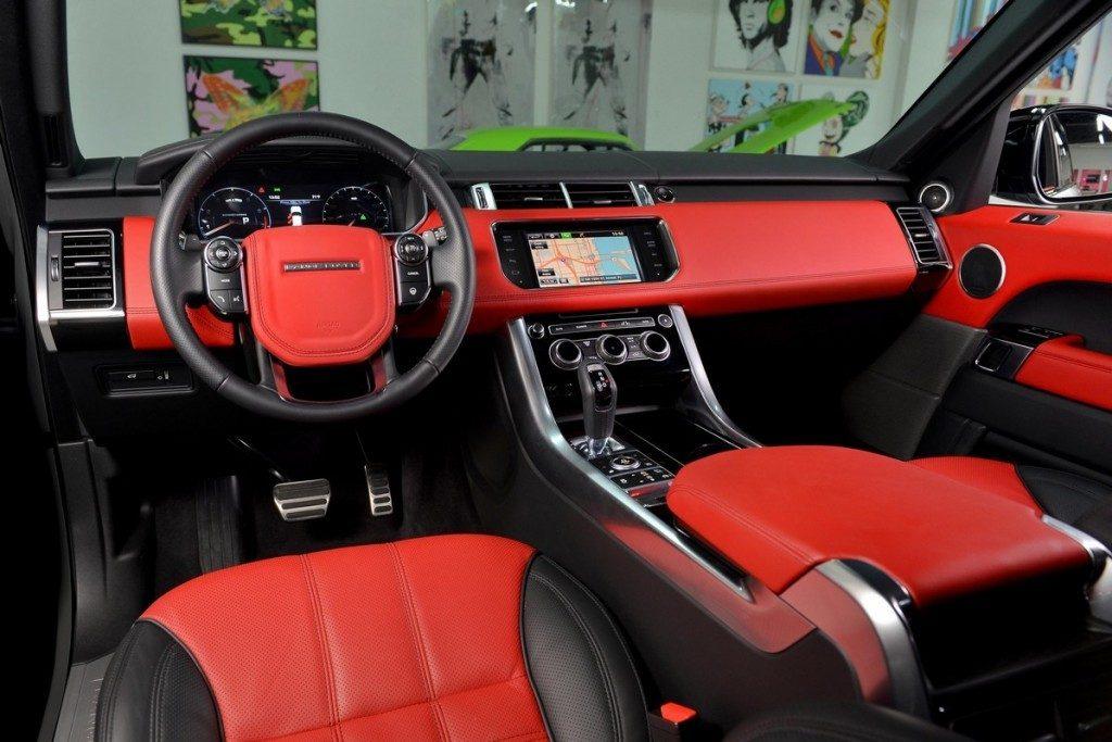 Range Rover Sport в салоне