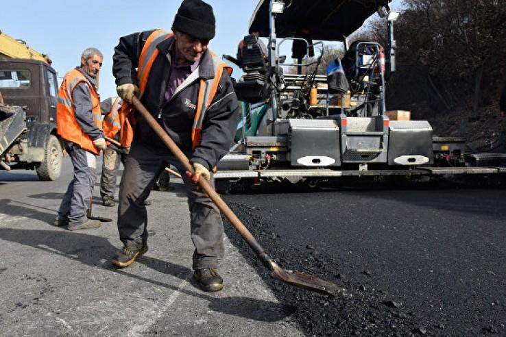 Ремонт дорог в Крыму