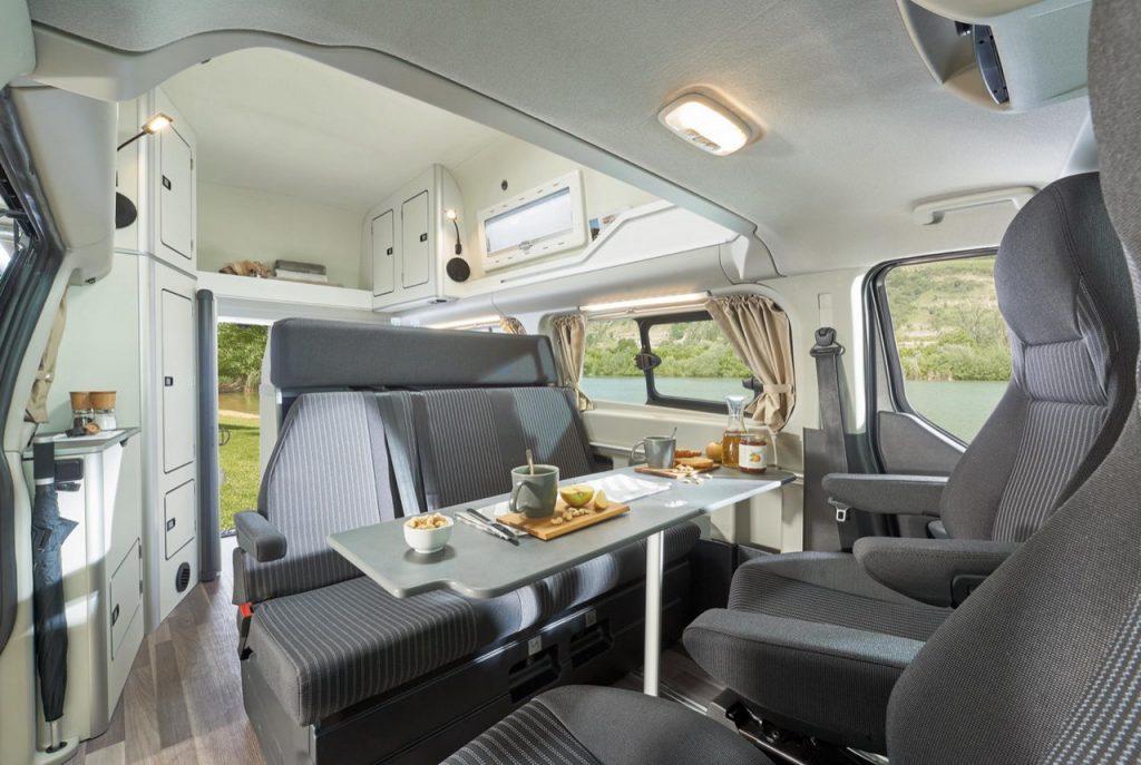 Ford Transit Custom Nugget Сamper - Интерьер