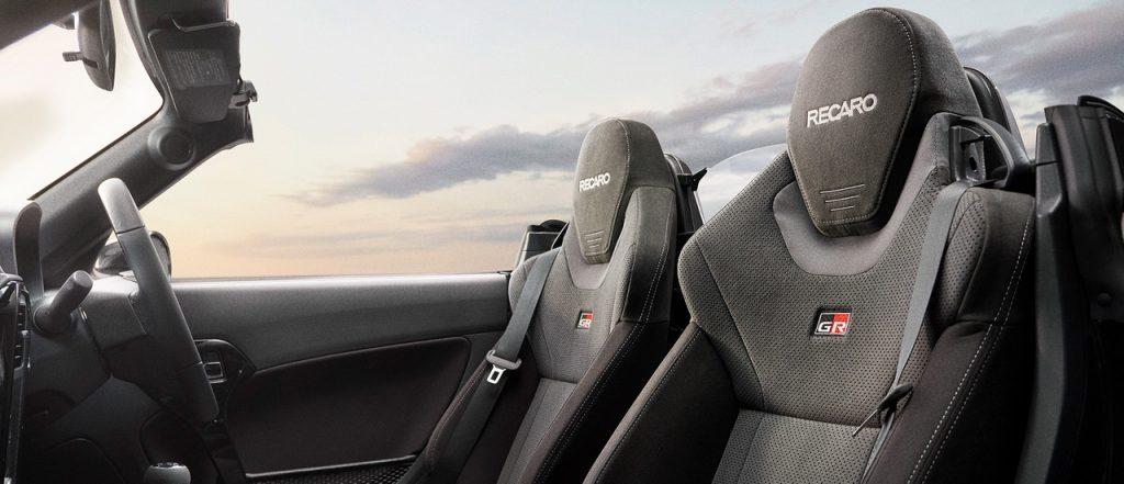 Daihatsu Copen GR SPORT - Интерьер - Сиденья
