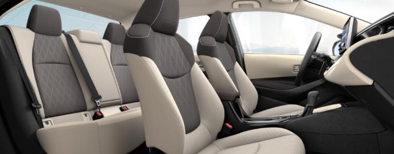 Тойота Королла 2019-2020 - Интерьер - Сиденья