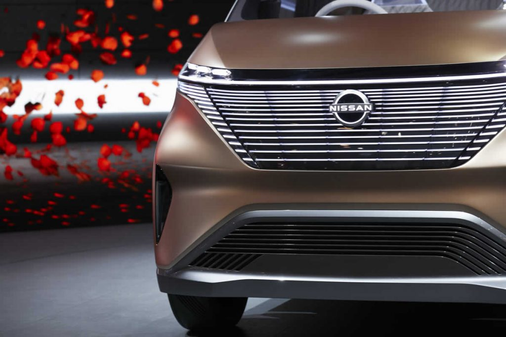 Nissan IMk - вид спереди