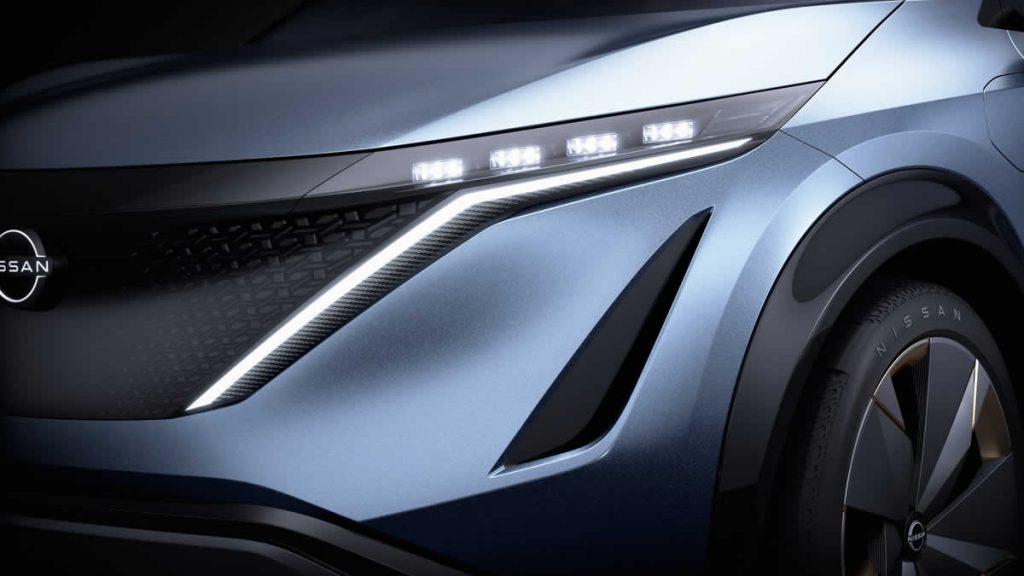 Nissan Ariya - передняя оптика