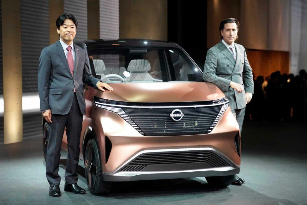 Nissan на Токийском автосалоне - Новый электрокар
