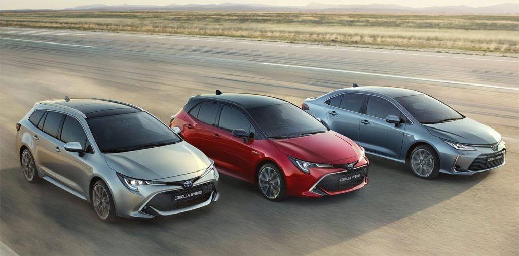 Тойота Королла 2019-2020 - седан, универсал и хэтчбэк