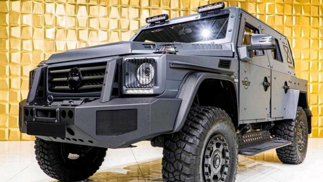 Gruma ENOK P1 Armored Mercedes G500 - вид спереди