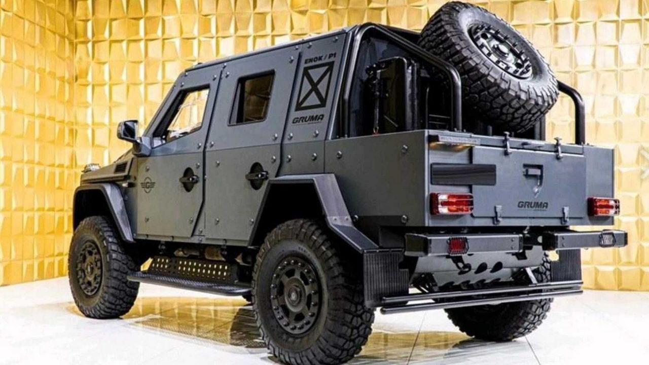 Gruma ENOK P1 Armored Mercedes G500 - вид сзади