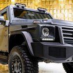 Gruma ENOK P1 Armored Mercedes G500 - бронированный полноприводый G500