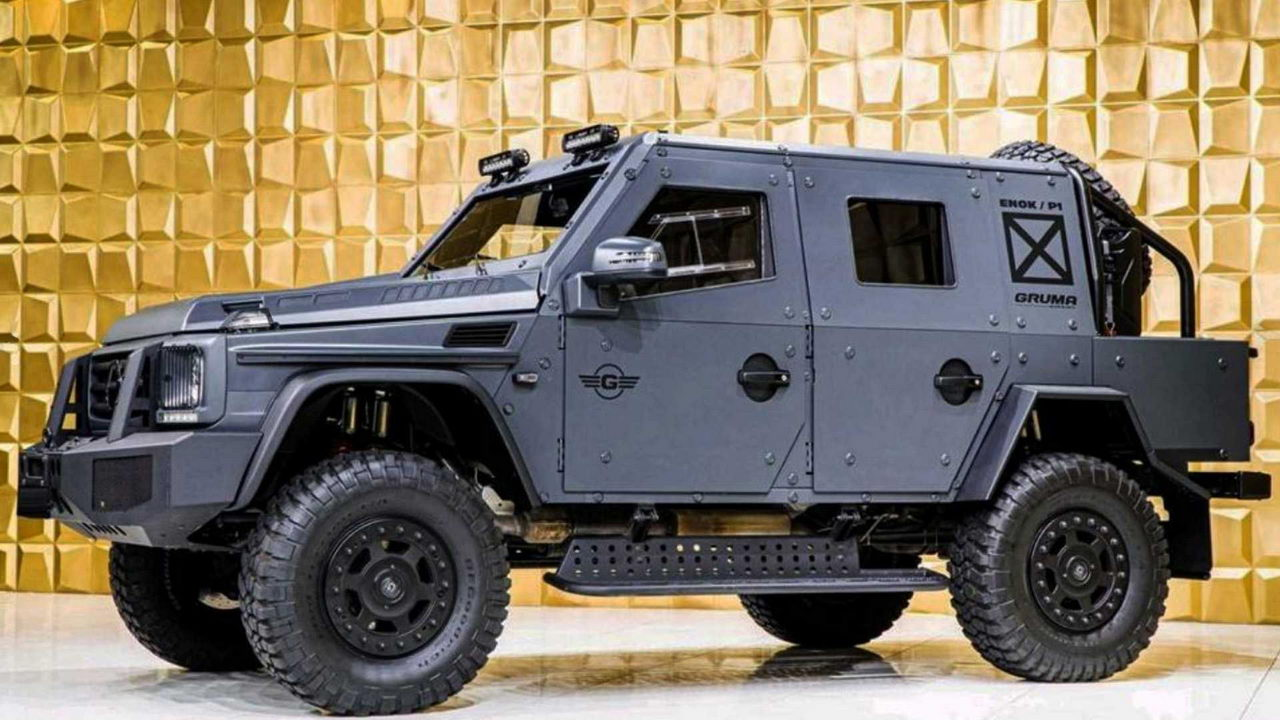 Gruma ENOK P1 Armored Mercedes G500 - вид сбоку