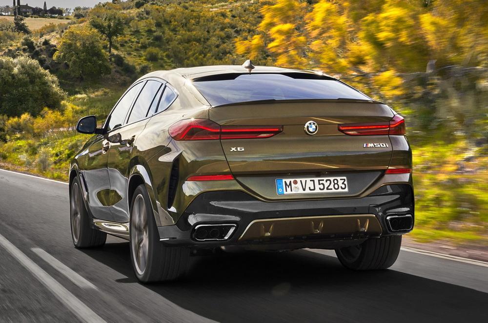 BMW X6 2020 года - Экстерьер - Вид сзади