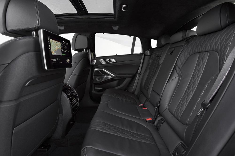 BMW X6 2020 года - Интерьер - Кресла задние