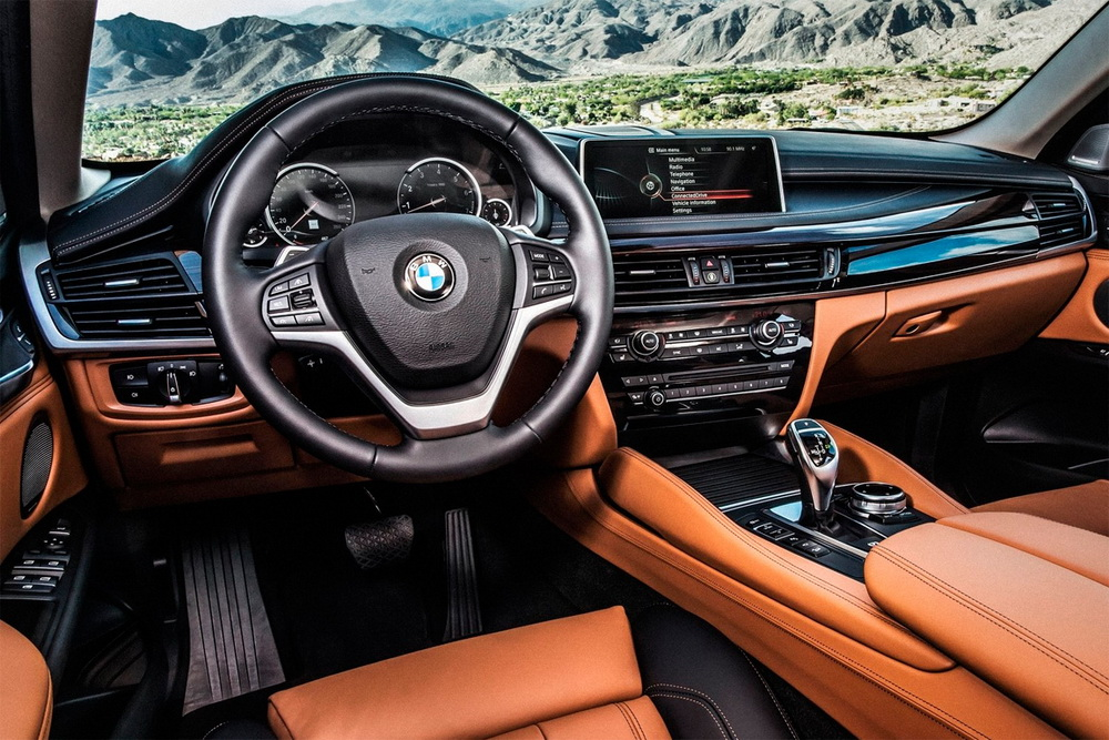 BMW X6 2020 года - Интерьер - Центральная консоль