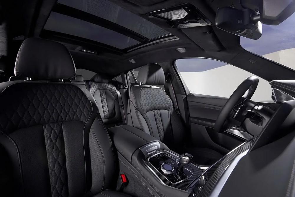 BMW X6 2020 года - Интерьер - Кресла передние