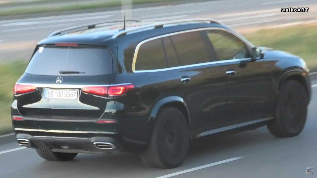Mercedes-Maybach GLS-Class - вид сзади