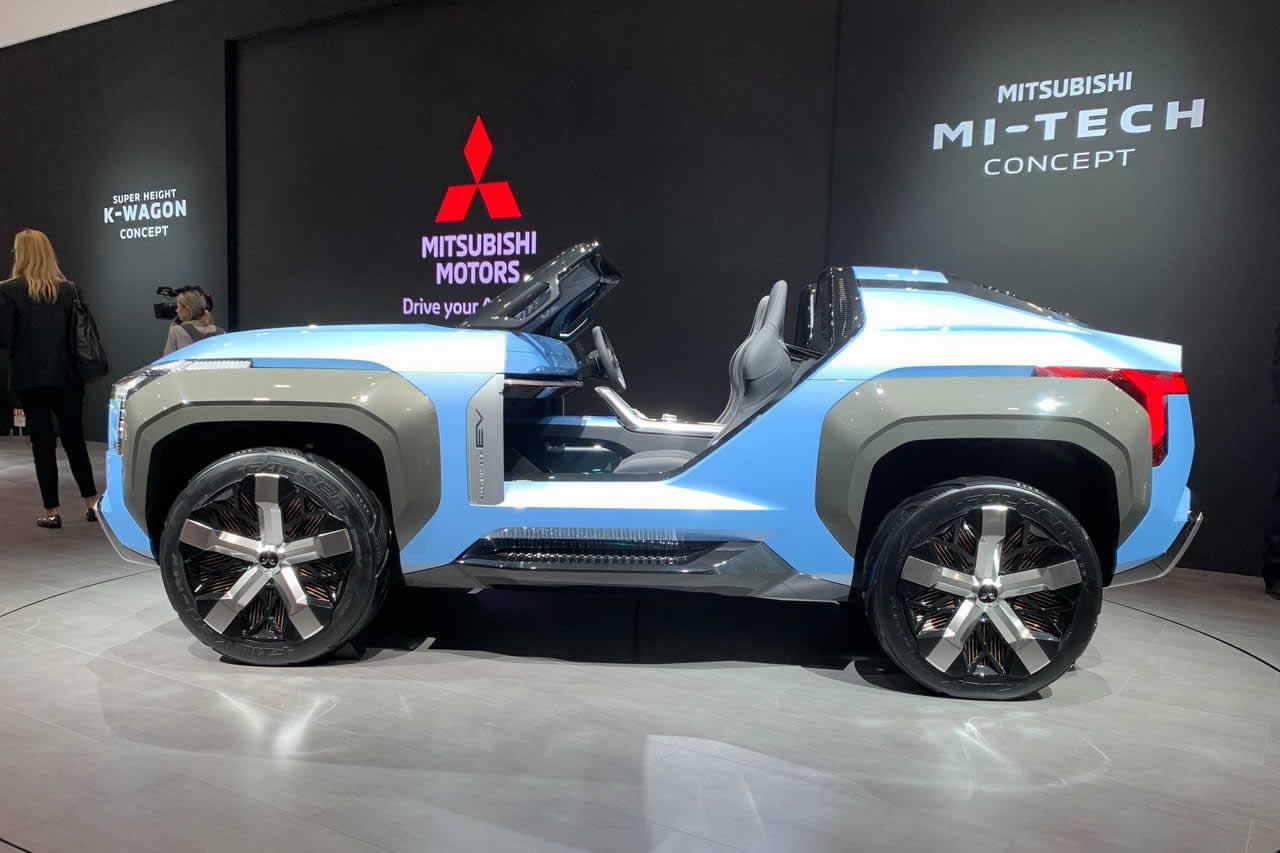 Mi-Tech от Mitsubishi Motors на Tokyo Motor Show 2019 - вид сбоку