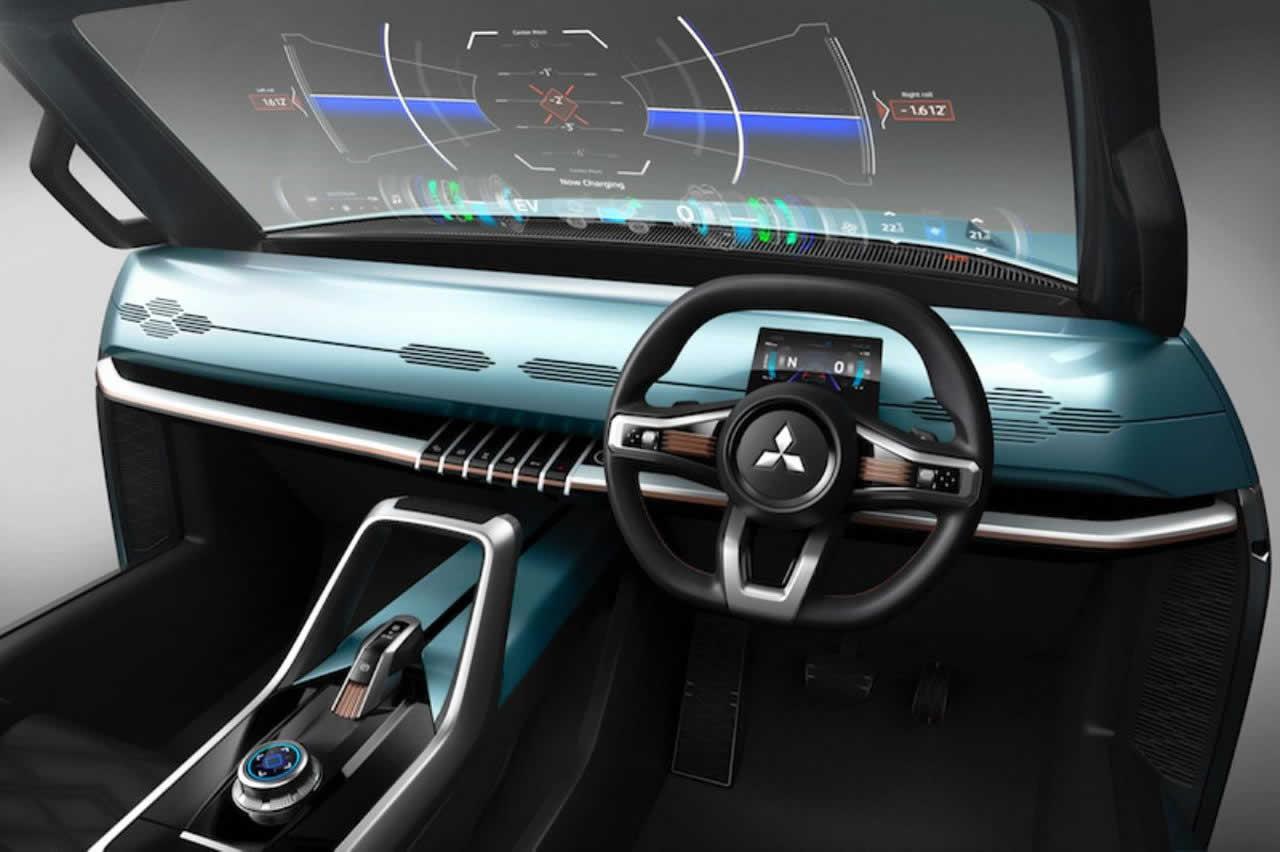 Mi-Tech от Mitsubishi Motors на Tokyo Motor Show 2019 - Интерьер