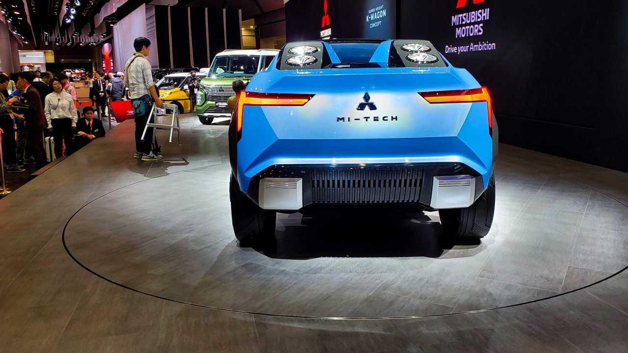 Mi-Tech от Mitsubishi Motors на Tokyo Motor Show 2019 - вид сзади
