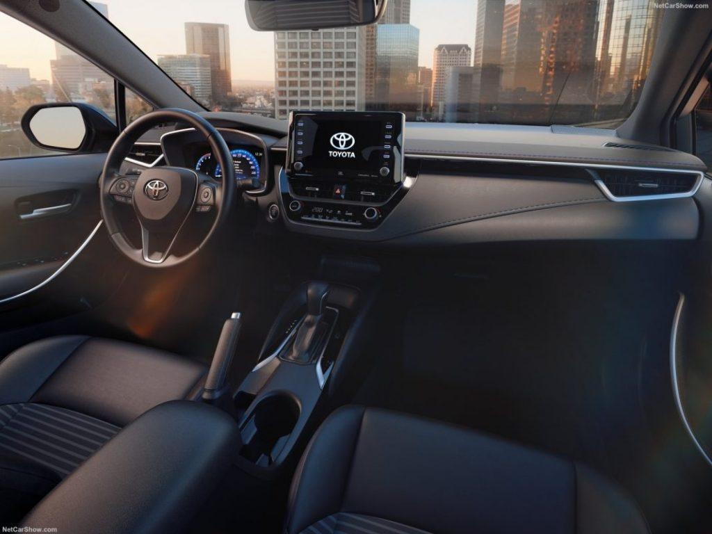 Corolla 2019-2020 - Приборная панель