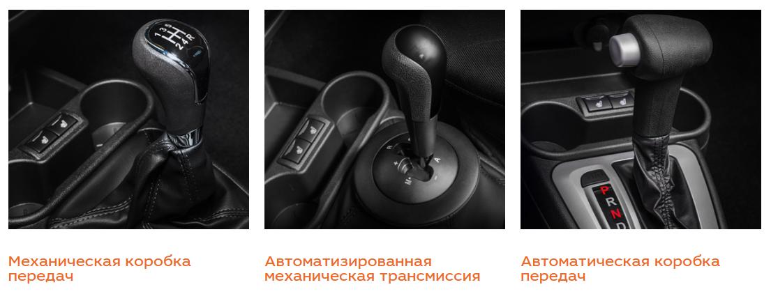 Lada Granta Лифтбэк - Коробки передач
