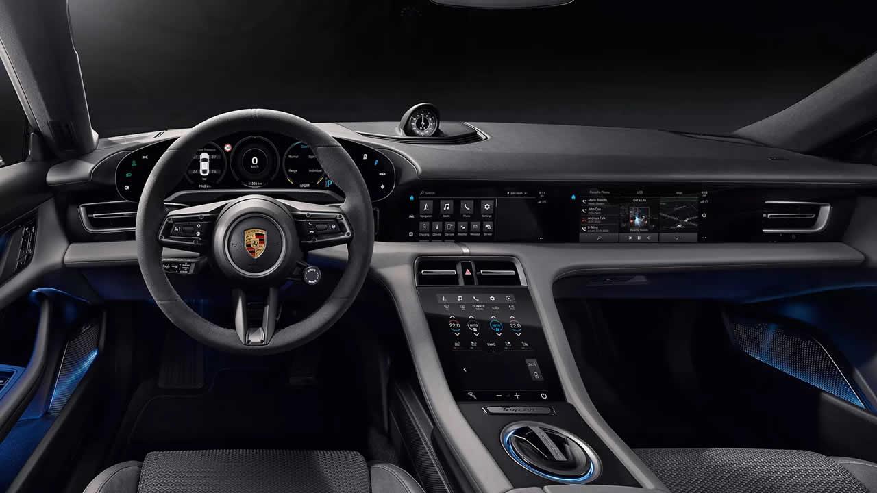 Porsche Taycan 4S - Интерьер
