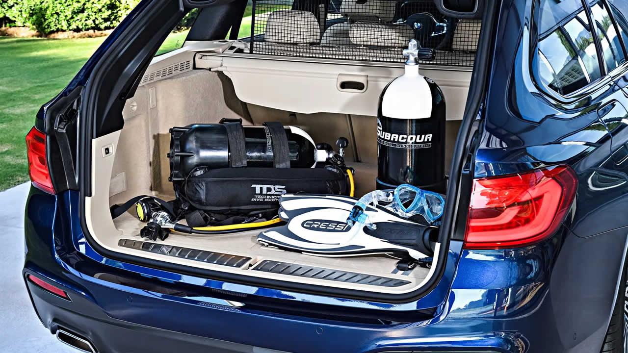 BMW 5-Series Touring 2019 - Объем багажника