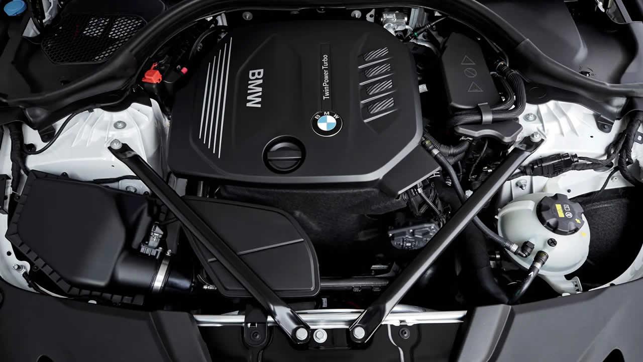 BMW 5-Series Touring 2019 - Двигатель