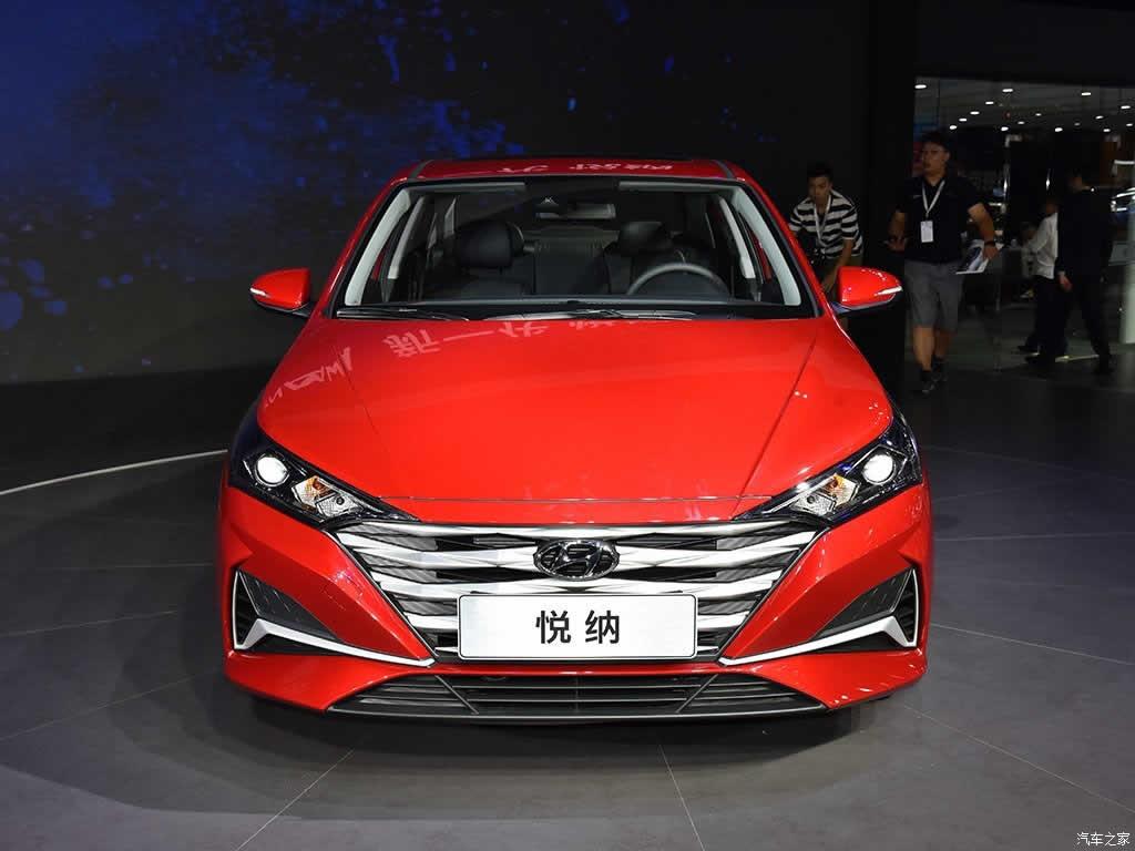 Hyundai Verna - вид спереди