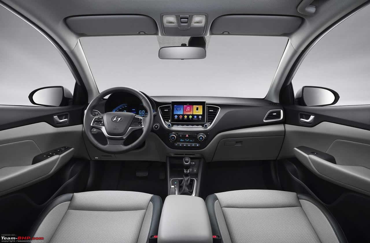 Hyundai Verna - Интерьер - Салон