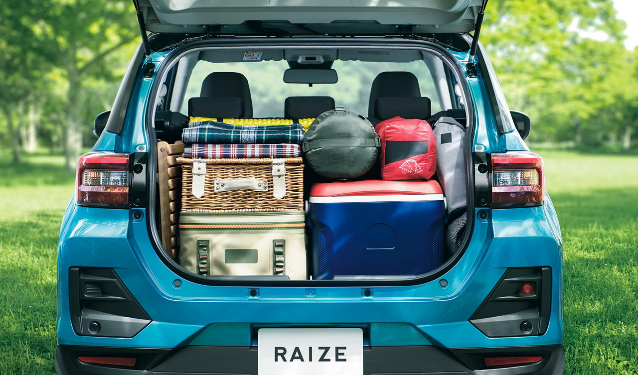 Toyota Raize 2020 - Багажник