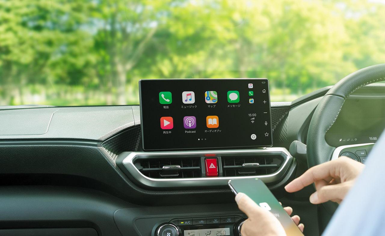 Toyota Raize 2020 - Мультимедийная система