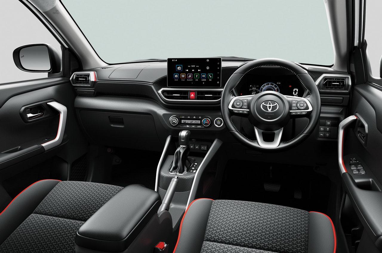 Toyota Raize 2020 - Интерьер - Передняя панель