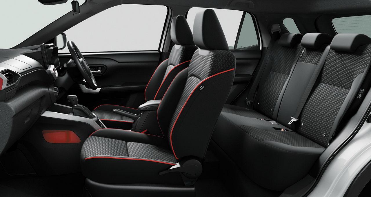 Toyota Raize 2020 - Интерьер - Салон