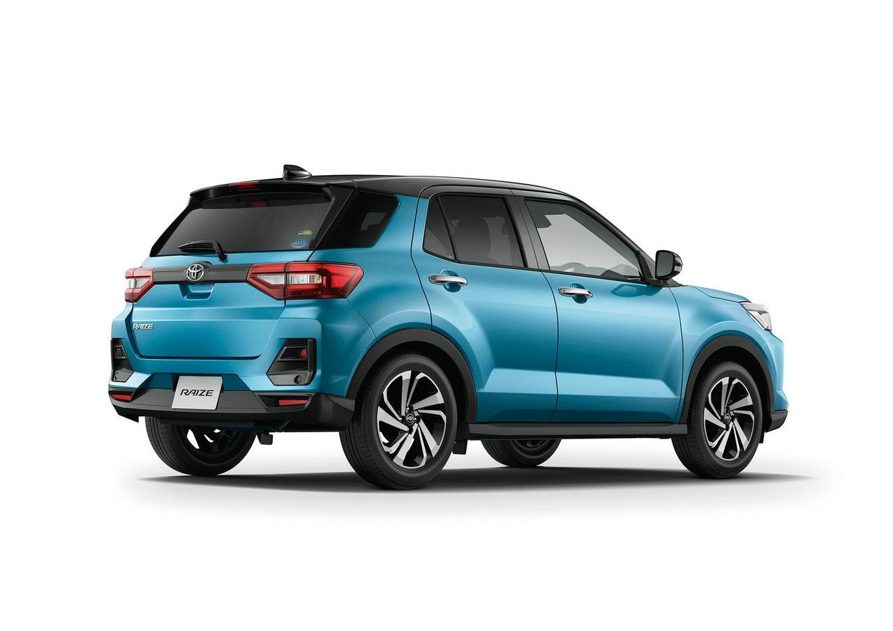 Toyota Raize 2020 - Вид сзади