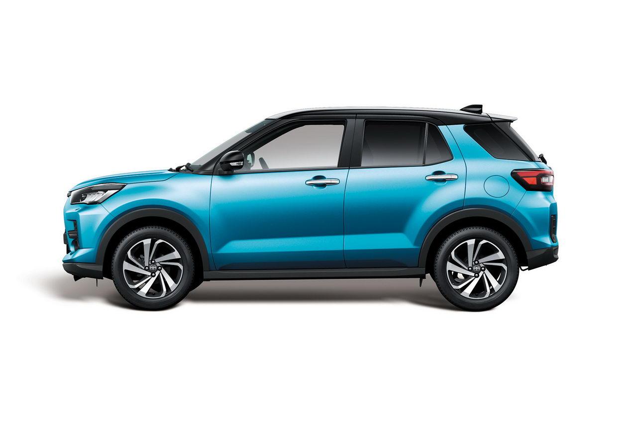 Toyota Raize 2020 - Вид сбоку